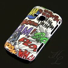 Samsung Galaxy Mini 2 / S6500 Hard Case Handy Hülle Etui Motiv HAHA COMIC PLOP