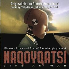 NAQOYQATSI - Original Motion Picture Soundtrack by Philip Glass (CD, 2002, Sony)