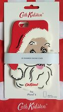 GENUINE CATH KIDSTON CHRISTMAS 3D SANTA RUBBER IPHONE APPLE I PHONE 6 CASE NEW!