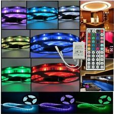 5M SMD 5050 RGB 300LEDs Non-Waterproof Flexible LED Strip Light + 44Key Remote