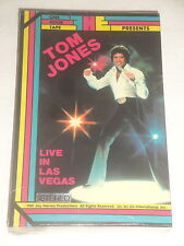 TOM JONES LIVE IN LAS VEGAS VHS SEALED NEW 1981 VERY RARE HARD TO FIND SEALED