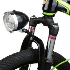 New Retro 3 LED Front Bicycle Bike Head Tail Light Lamp Flashlight Use AAA*3