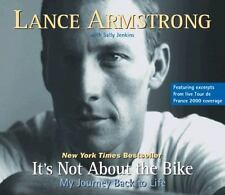 It's Not about the Bike: My Journey Back to Life by Lance Armstrong (2000, CD)
