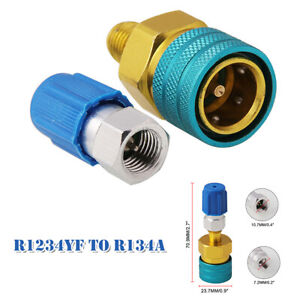 R1234YF to R134a Low Side Quick Coupler Adapter Air Conditioning Fitting Coupler