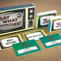 Say What You See Catchphrase Game Quiz Trivia Family Party After Dinner Game