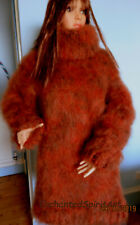 LONG HAIR MOHAIR SWEATER/DRESS HAND KNITTED NEW