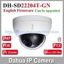 Dahua SD22204T-GN 2MP 4X Optical Zoom Full HD Mini PTZ Dome PoE Camera SD Slot