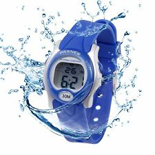 Kids Toddler Waterproof Sport Wrist Watch Watches 26mm Face for Child Girls Boys