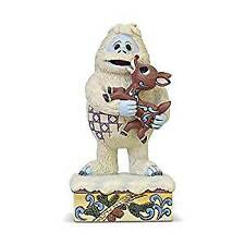 Jim Shore Enesco Bumble Holding Rudolph Figurine 6004144
