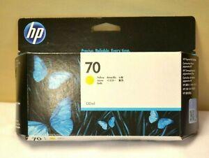 HP 70 Genuine Original  C9454a Ink Yellow 130ml Date Dec 2021