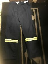 Men's Red Kap Reflective Hi Vis Work Pants Navy 38X34 NWOT 100% Cotton