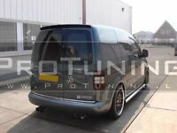 VW CADDY 2K 2003-2011 REAR ROOF TRUNK TAILGATE SPOILER TWO DOORS Barn door