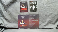"""Megadeth """"Marty Friedman"""" ENGL Amplifiers Poster & Promos<<>>NEW<>SUPER RARE"""