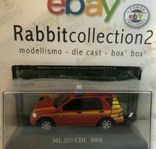 "DIE CAST "" ML 270 CDI - 2002 "" MERCEDES COLLECTION 1/43 (77)"