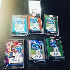 2018 Panini Prizm KERRYON JOHNSON Rookie Prizm Auto Lot (7) RC See Description*