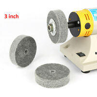 Nylon Fiber Polishing Wheel Jewelry Buffing Grinding Disc Abrasive Polisher Tool