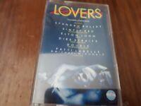 VARIOUS ARTISTS - LOVERS - CASSETTE TAPE ALBUM 80S LOVE SONGS COMPILATION