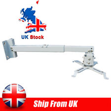 More details for 3 in 1 wall ceiling mount hanger adjustable bracket for projector 44lbs stand uk