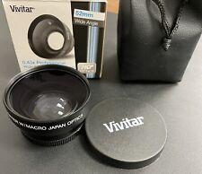 Vivitar 52 mm 0.43x Professional Wide Angle Lens with Macro