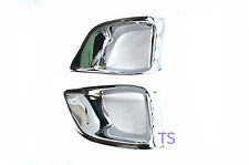 FOR TOYOTA VAN HIACE COMMUTER 2011 12 13 CHROME FOG LAMPS SPOT LIGHT COVER TRIM
