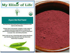 Organic Beet Root Powder Fresh & 100% pure Detox and Blood cleanser 8 oz