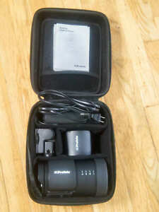 PROFOTO B10 901163 OCF FLASH WITH EXTRA BATTERY USED