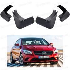 1Set Car Mudflaps Splash Guards Mudguard Fender for 2014-2018 Mercedes Benz CLA