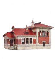 Building TELEGRAPH POST HO Scale 1/87 Railway Train Model Kit Cardboard