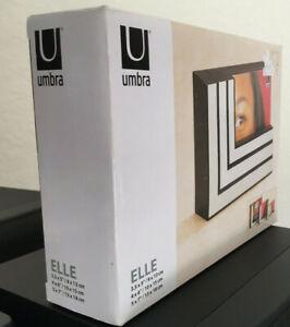 Umbra Elle 3 nesting photo frames. Never used. Still in original packaging.
