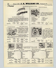 1958 PAPER AD 14 PG Playskool Educational Puzzles Blocks Take Apart Plane Toys