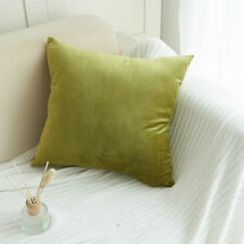 Velvet Pillow Sofa Waist Throw Cushion Cover Home Decor Cushion Cover Case 18''