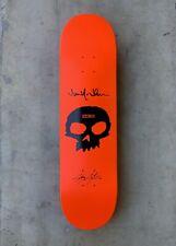 Zero Chris Cole 'Single Skull' Deck Signed By Jamie Thomas