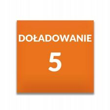 Doładowanie ORANGE 5 zł AUTOMAT 24/7 PLN WYSYŁKA W 2 MINUTY