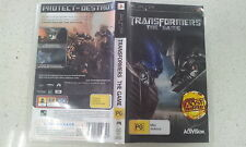 Transformers The Game  Sony PSP Game