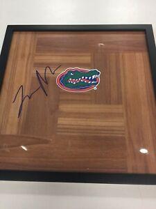 Tre Mann Signed Autographed FRAMED 12x12 Floorboard Florida Gators