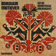 BORDUURMOTIEVEN UIT DE KROATISCHE VOLKSKUNST-  Blazena Scenzi & Viktor Kipcic