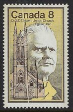 Scott 662 var: 8c Dr. Chown with PREPRINTING PAPER CREASE, small thin, VF-HR