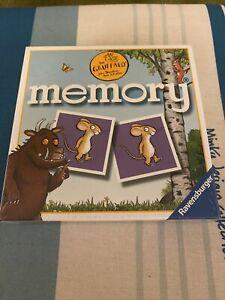 RAVENSBURGER- THE GRUFFALO MINI MEMORY GAME- NEW/SEALED