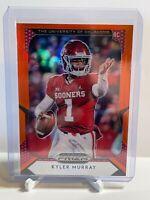 2019 Panini Prizm Draft Picks Kyler Murray #101 Rookie RC Red Prizm Cardinals