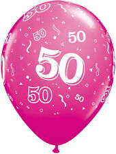 Birthday, Adult Oval Party Standard Balloons