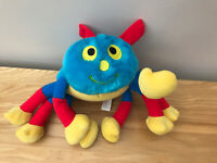 """WOOLLY AND TIG SPIDER 12"""" TALKING PLUSH SOFT TOY VERSION GOLDEN BEAR GREAT COND"""
