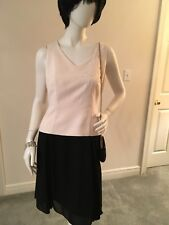 Ladies Donna Morgan Black and White After Five Dress, Size 8