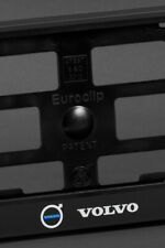 2 x Volvo Euro License Plate Frame