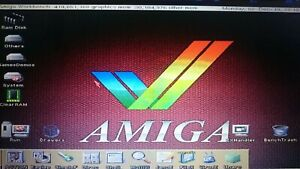 Amiga 1200 New Ultra Os4.9 128GB SSD Disk+Adaptor+RibbonCable WhdLoad Titles