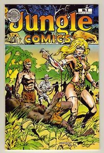 Jungle Comics #2 - 1988 Blackthorne - Sheena, Queen of the Jungle - NM (9.2)