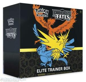 Pokemon TCG: Hidden Fates Elite Trainer Box :: Brand New And Sealed!