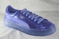 WOMEN'S PUMA BASKET PLATFORM NS BAJA BLUE-BAJA BLUE 364587-03
