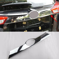 fits Toyota RAV4 2013-2015 Chrome Rear Door Trunk Lid Molding Cover Trim Decor