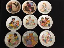 Avon Mother's Day Mini PlatesLOT of 9 Vintage (1985-1996)