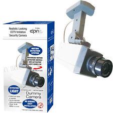 Cámara De Seguridad CCTV Dummy detección de movimiento giratorio al aire libre del LED Luz Intermitente